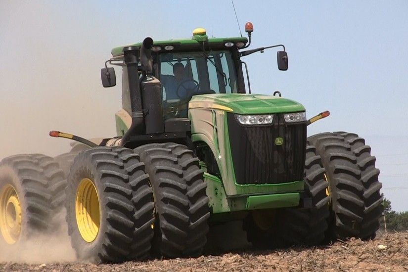 Pitstick Farms - John Deere 9560R and 9530 Tractors on 5-7-2013 - YouTube
