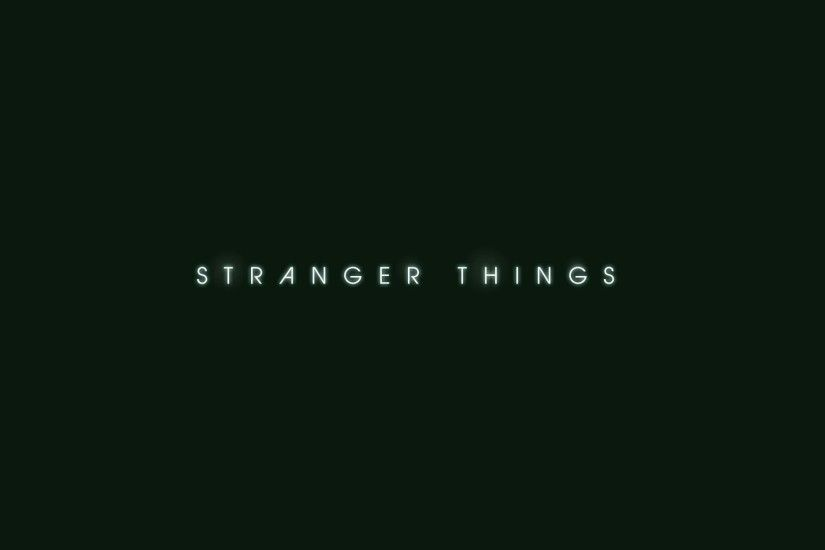 Stranger Things [wallpapers HD]