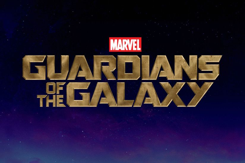 Marvel's Guardians of the Galaxy Logo HD Wallpaper