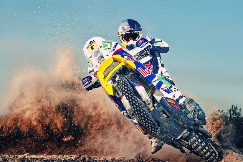 Free HD Dirt Bike Wallpaper.