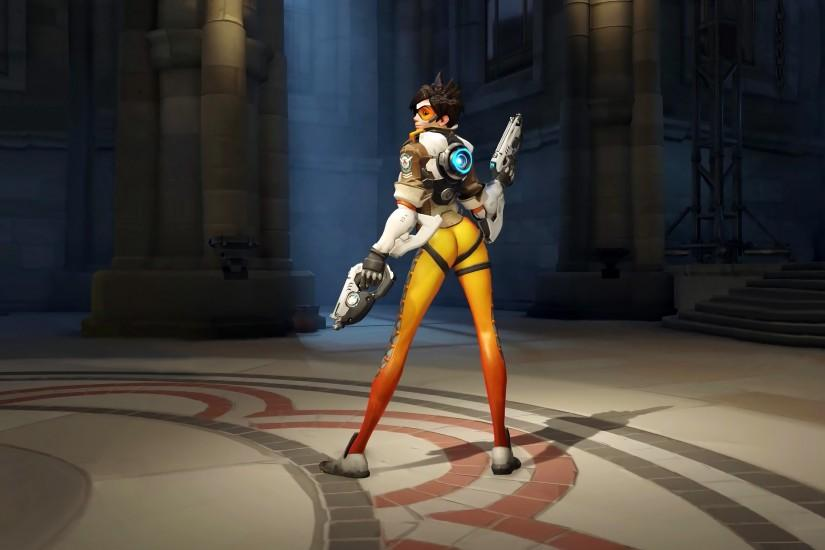 full size overwatch tracer wallpaper 3840x2160 cell phone