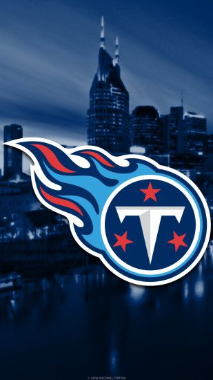 ... tennessee titans 2017 logo mobile wallpaper iphone 7, 6, 5, galaxy s7,