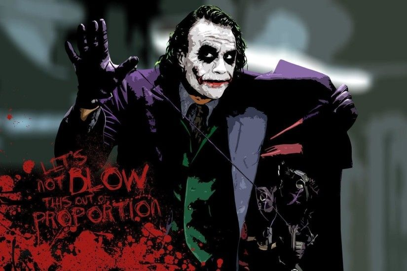 Heath Ledger Joker HD Wallpaper 1920x1080