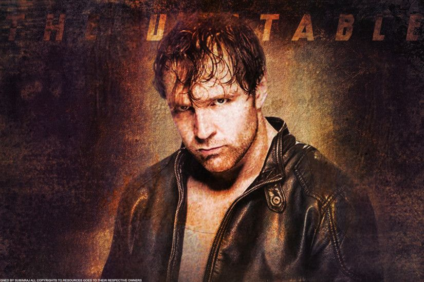 ... The Unstable Dean Ambrose Full HD Wallpaper by Subinraj