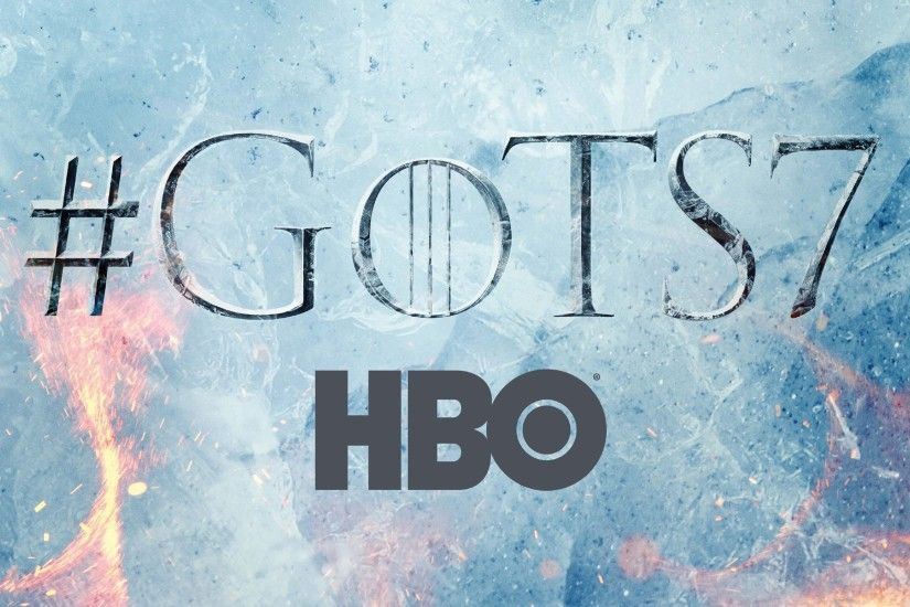 Game Of Thrones, season 7, logo 1125x2436 iPhone XS/X wallpaper, background,  picture, image
