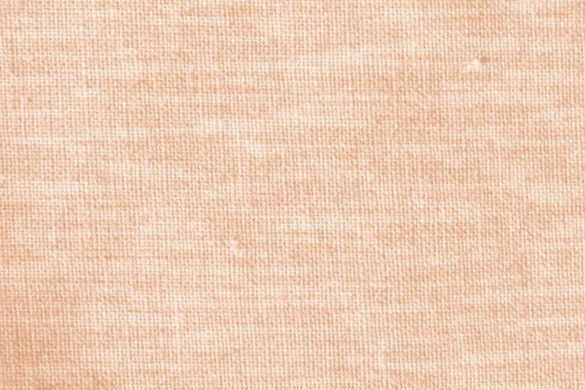 Peach or Light Orange Woven Fabric Close Up Texture