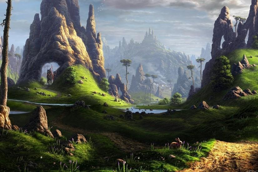 Fantasy Landscape Wallpapers | Best HD Desktop Wallpapers, Widescreen .