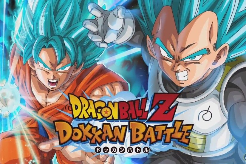Dragon Ball Z Dokkan Battle Goku And Vegeta Wallpaper