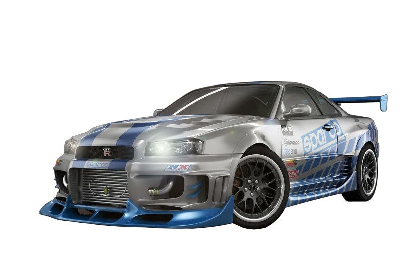 Nissan Skyline Fast And Furious 7 Sport Car Wallpaper