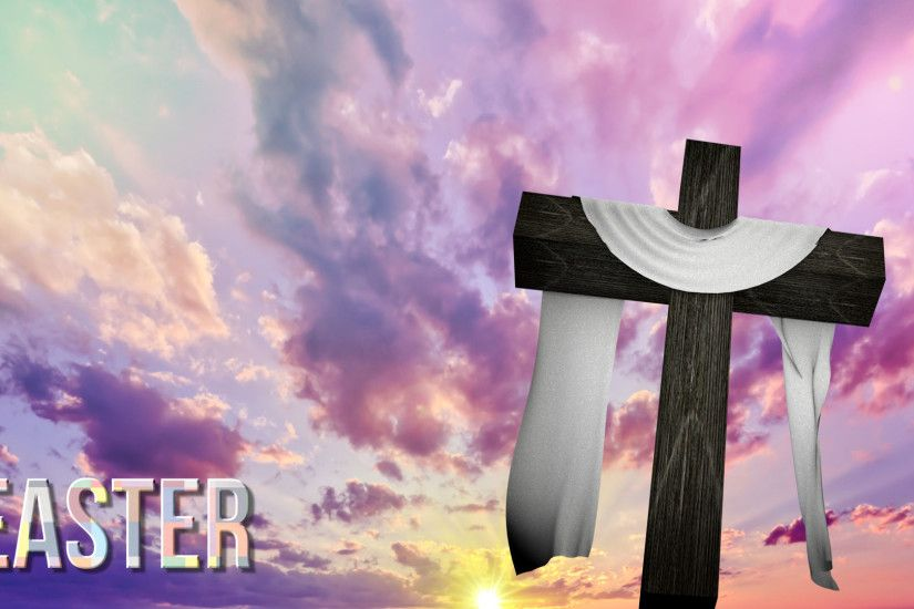 Easter Cross Wallpaper (08)