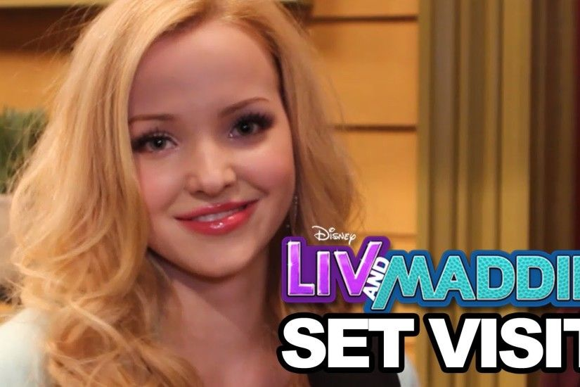 On Set of 'Liv & Maddie' with Dove Cameron, Joey Bragg & More - YouTube