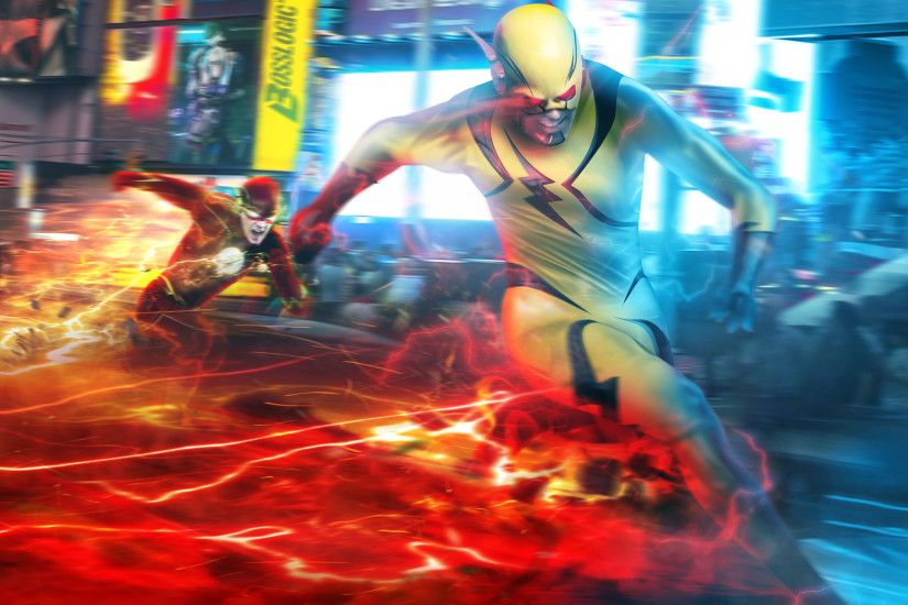 reverse flash, eobard thawne, barry allen, the flash wallpapers .