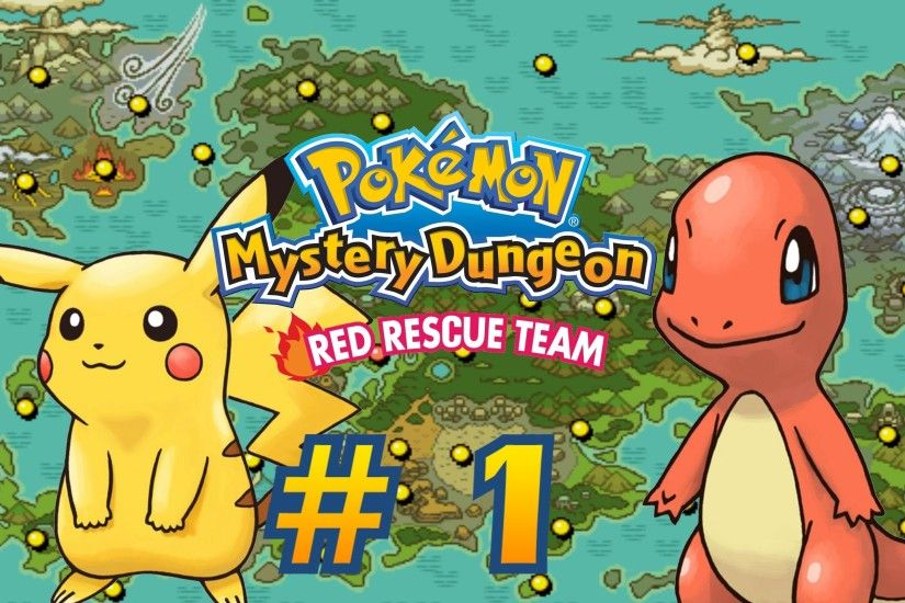 HD Quality Wallpaper | Collection: Video Game, 3000x1875 Pokémon Mystery  Dungeon: Red Rescue