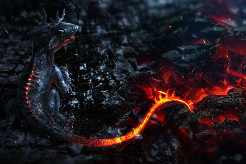 ... dragon HD Wallpaper 2560x1440 Baby ...