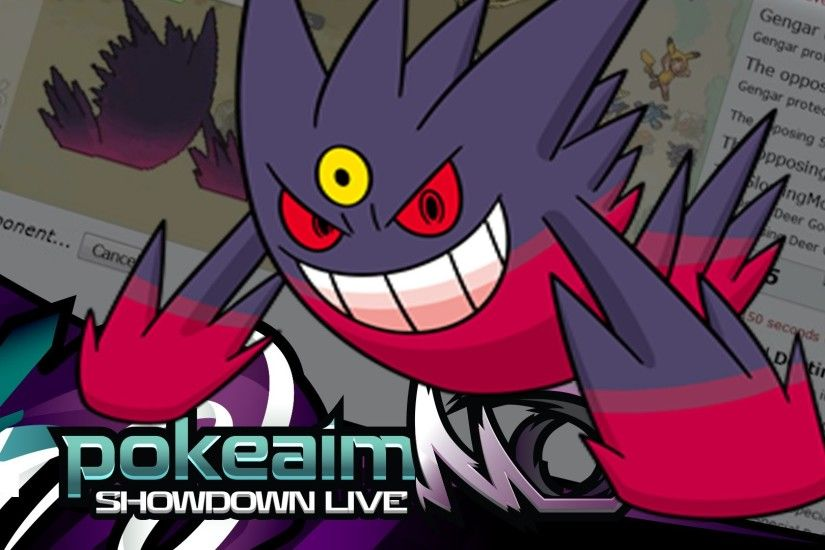 "Pokemon |OR/AS| Ubers Showdown Live w/ PokeaimMD! - Ep 17: ""Trap Music ft. Mega  Gengar!"""