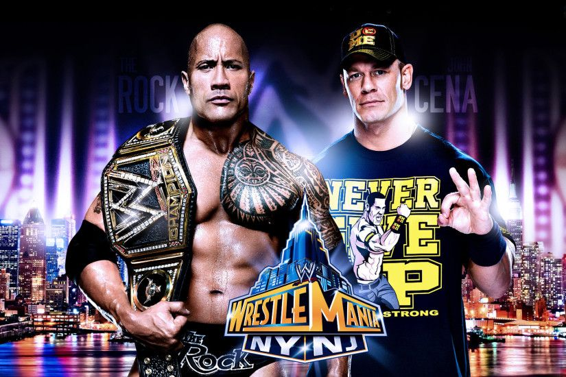 John Cena Vs The Rock Wrestlemania 29 Wallpaper