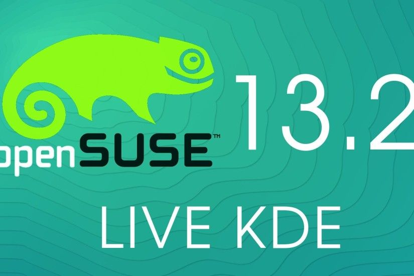 OPENSuse 13.2 LIVE KDE PRE-Install Overview