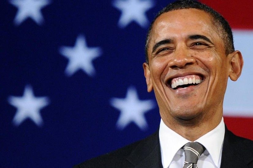 Smiling Face of Popular Politician Barack Obama HD Photo