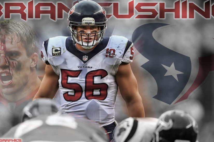 Texans Sub, I made you a Brian Cushing wallpaper, I worked really hard on  it and I hope you guys like it!