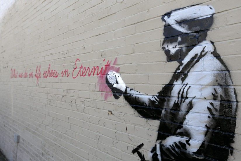 ... newest banksy art wallpaper - photo #6 ...