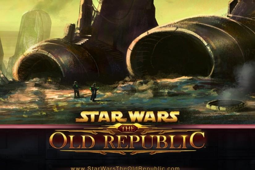 Preview wallpaper star wars the old republic, airplane, crash, fan art  2560x1080