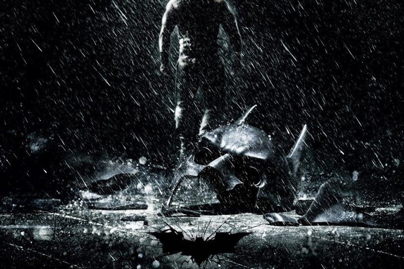 Batman movies rain masks Batman The Dark Knight Rises / 1920x1080 Wallpaper
