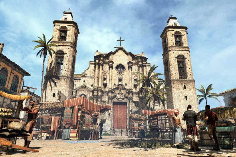 10kb ac4 black flag wallpaper - photo #37. Cathedral of Havana | Assassin's  Creed Wiki | FANDOM .