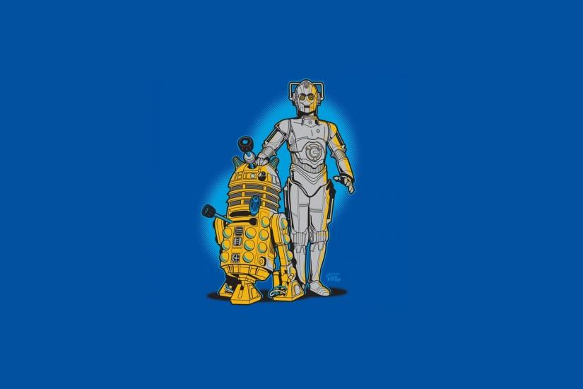 Download Wallpaper Style Star Wars Robots R2d2 Section Minimalism