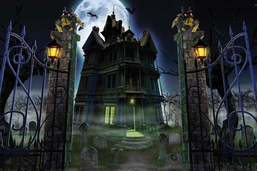 haunted mansion wallpaper 2560x1600 for android tablet