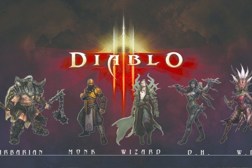 Video Game - Diablo III Demon Hunter (Diablo III) Barbarian (Diablo III)
