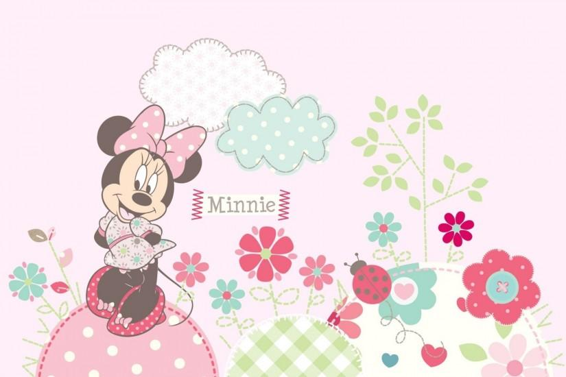 Minnie mouse backgrounds free download.