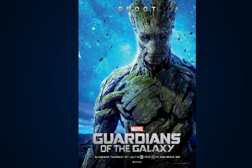Guardians Of The Galaxy Wallpaper Groot 1