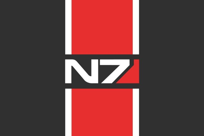 Preview wallpaper mass effect 3, n7, graphics, style, font 1920x1080
