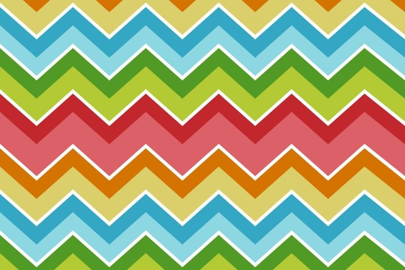 Chevrons Zigzag Colorful Background