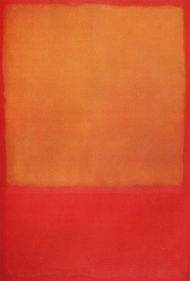 "Mark Rothko: ""Ochre and Red on Red"" ..."
