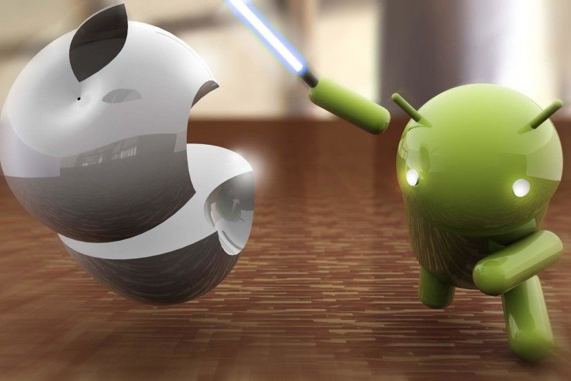 Android Vs Apple Wallpapers - Full HD wallpaper search