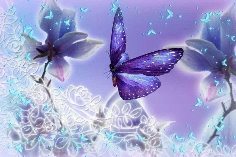 Download Purple Butterfly Wallpaper Images #n1s 1920x1200 px 448.80 KB
