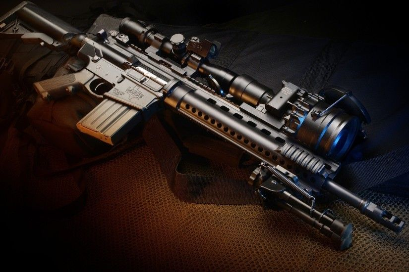 Assault Rifle M4 Rifles Exclusive HD Wallpapers #6935