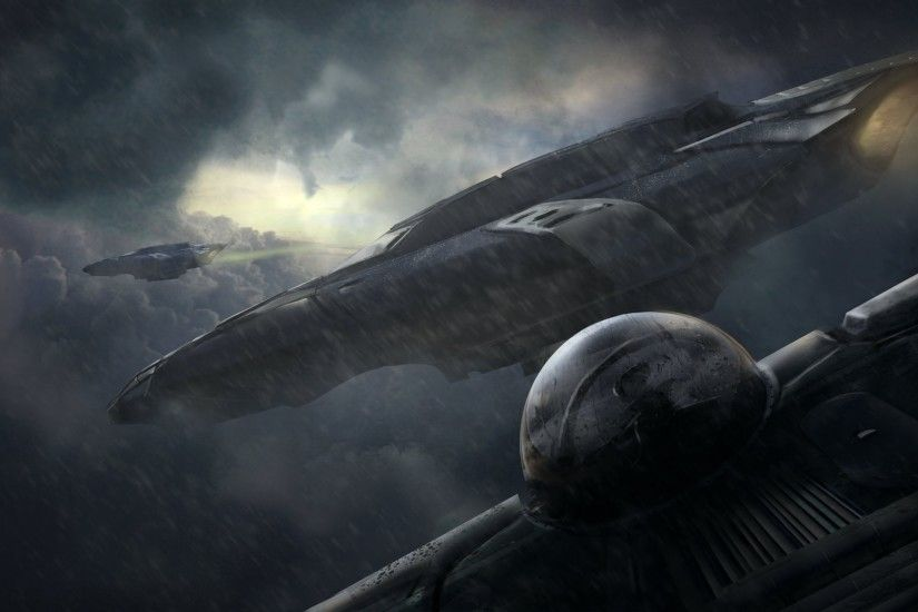 spaceship wallpaper for desktop hd (Stew Thomas 1920x1080)
