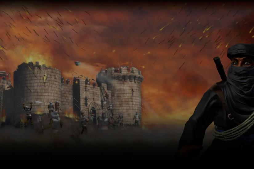 Wallpaper from Stronghold: Crusader II