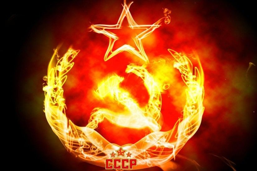 Pix For > Soviet Union Logo Wallpaper