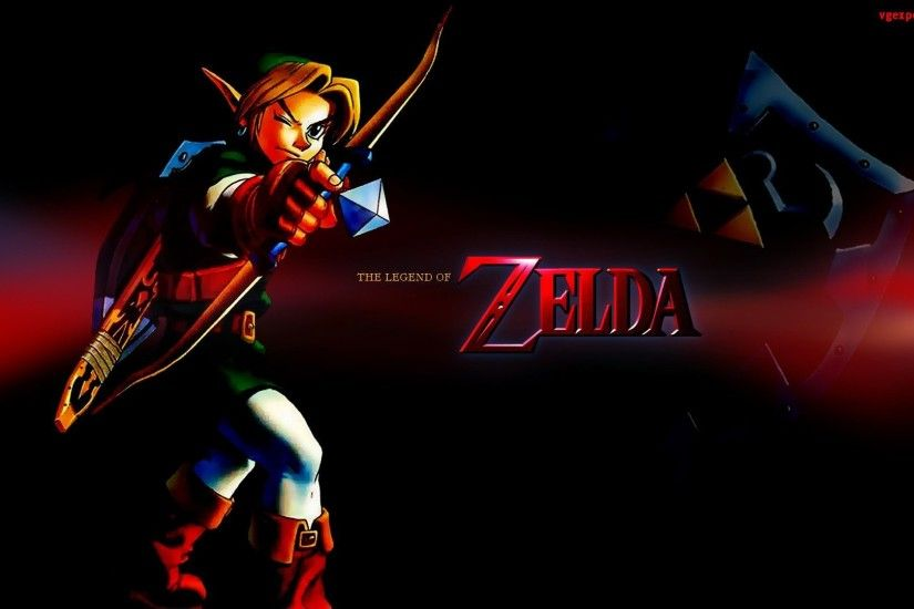 Legend Of Zelda Ocarina Of Time Wallpaper
