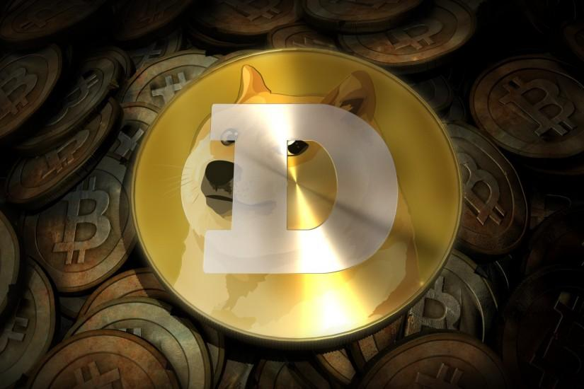 3D Dogecoin Background - Doge Wallpaper (1920x1080) (29089)