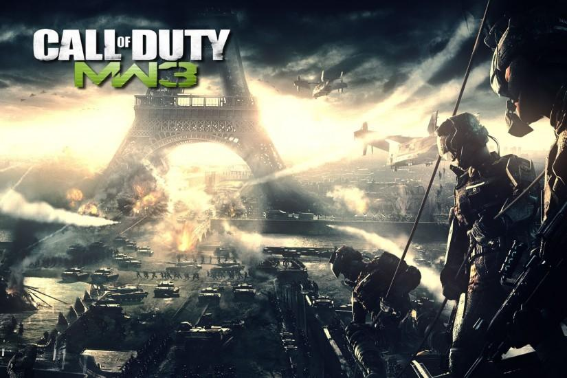 Call of Duty 3 at Paris Wallpapers HD.