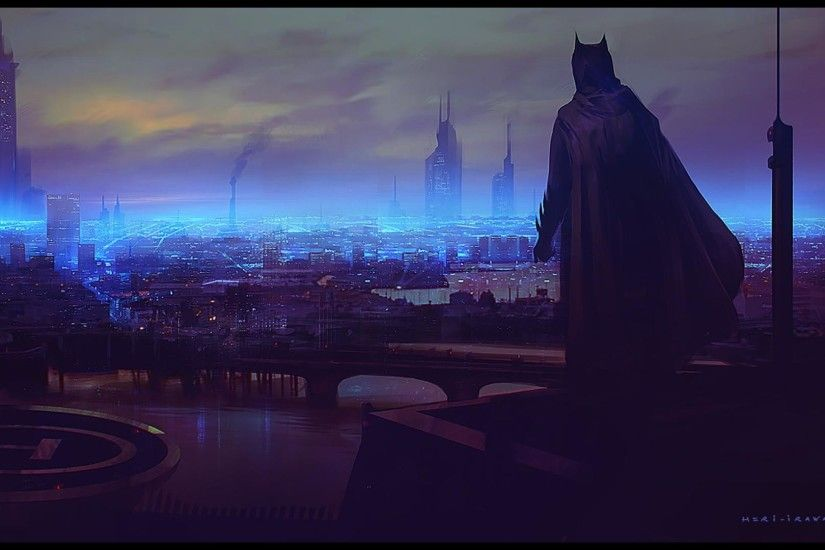 Dark Night Neon City [1920x1080] Need #iPhone #6S #Plus #Wallpaper
