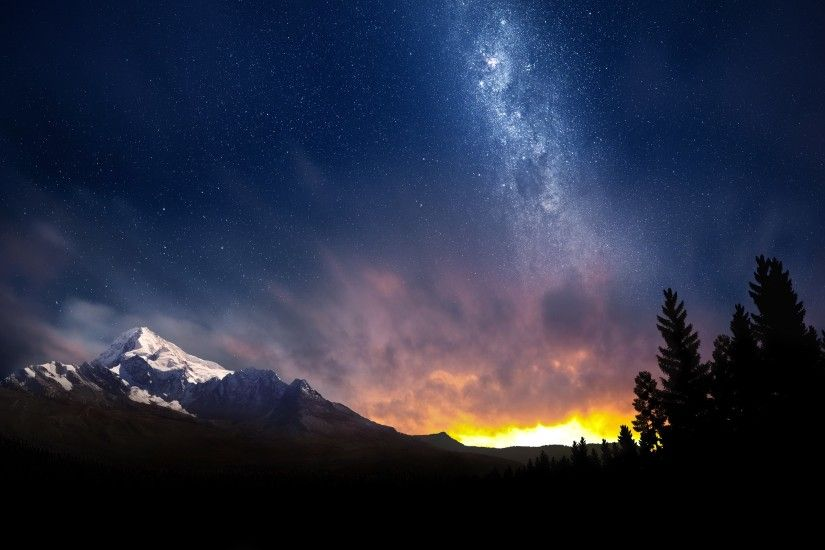 photos of the night sky | Swiss Night Sky Wallpapers | HD Wallpapers