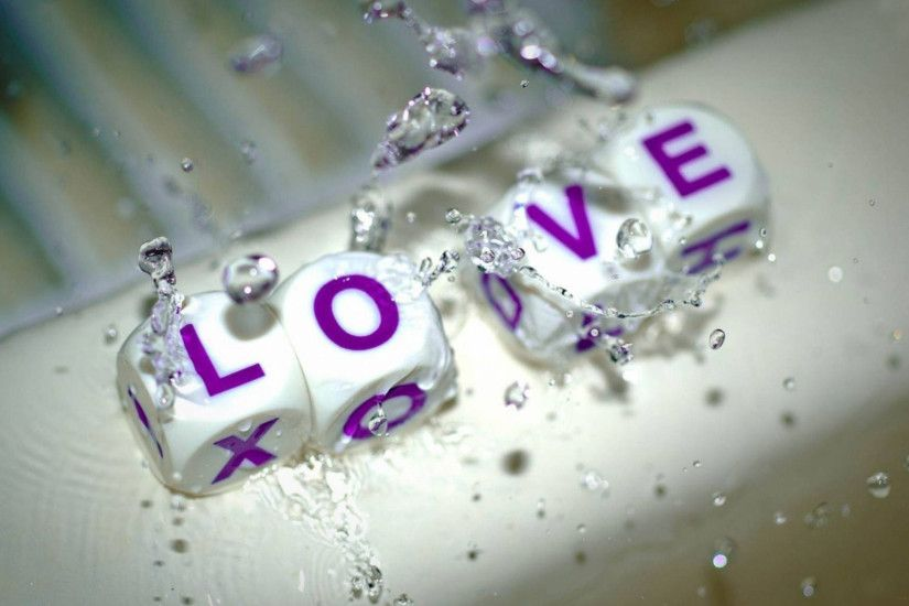 love water 3d full HD wallpaper Wallpaper