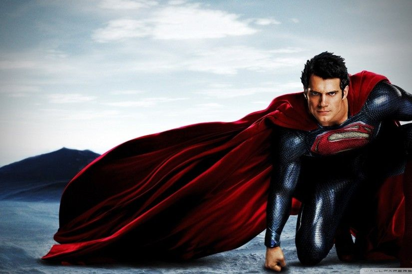 Man Of Steel 2013 HD Wide Wallpaper for 4K UHD Widescreen desktop &  smartphone