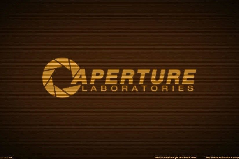 Wallpapers For > Aperture Science Wallpaper 1600x900