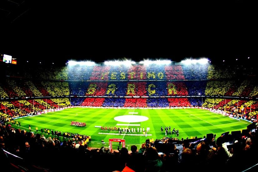 Photo of Camp Nou.